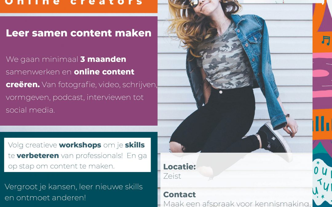 Multimedia: Online Creators