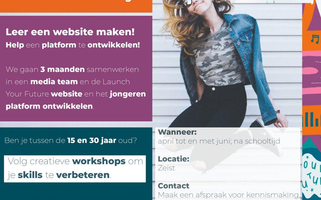 Start nieuwe groep multimedia en webdesign: Online Creators